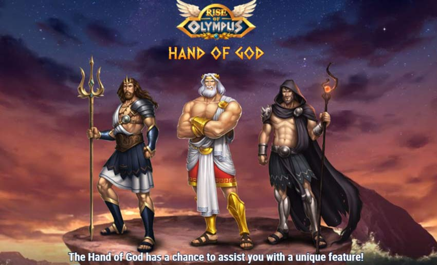 Rise of Olympus Hand of god