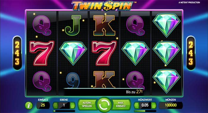 twin spin overlay