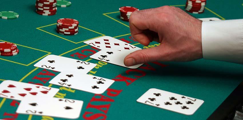 Blackjack Tischspiel