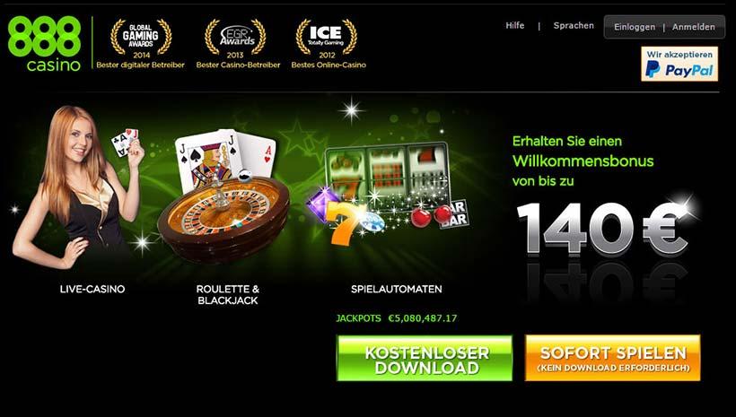 888 Casino Login