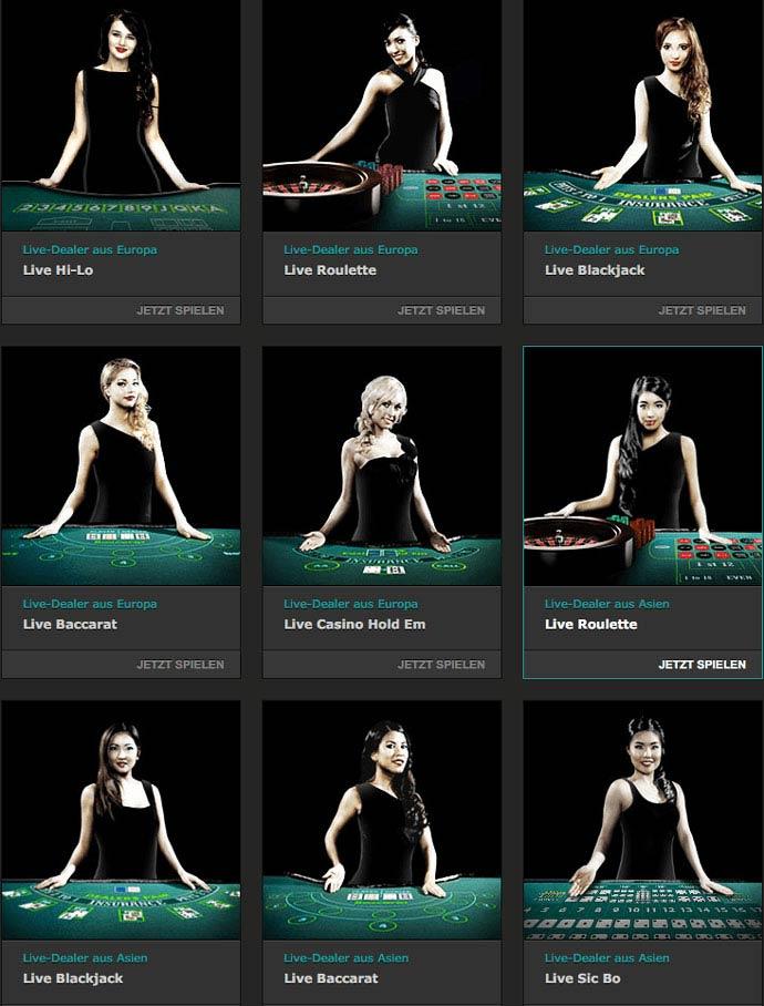Bet365 Casino Live Wetten