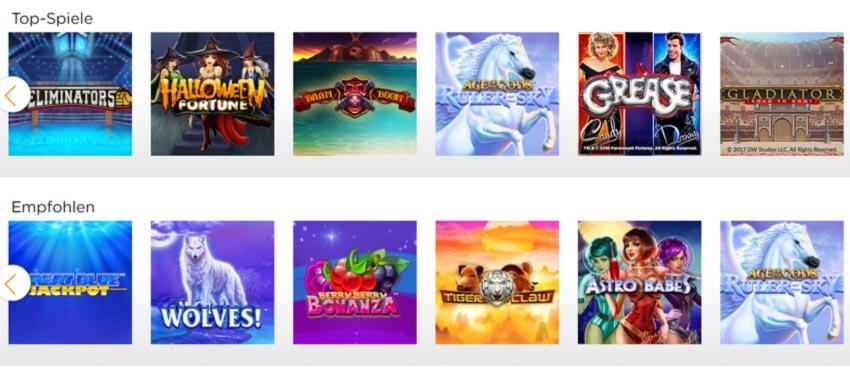 Casino.com Spiele