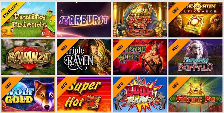 Slot Spiele CasinoLuck