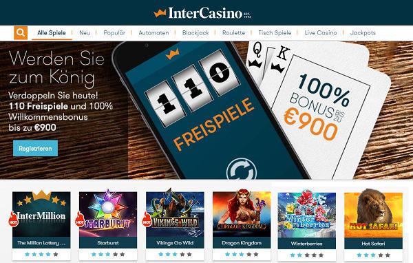 InterCasino Mobile