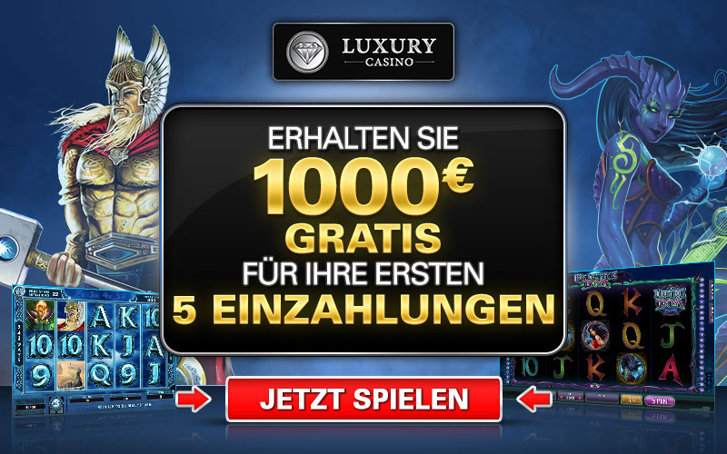 Luxury Casino Spielauswahl