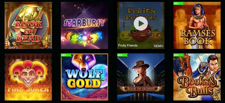 Slot Spiele