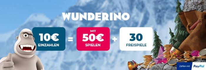 neue Online Casinos Wunderino