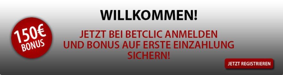 BetClic Bonus Willkommensbonus