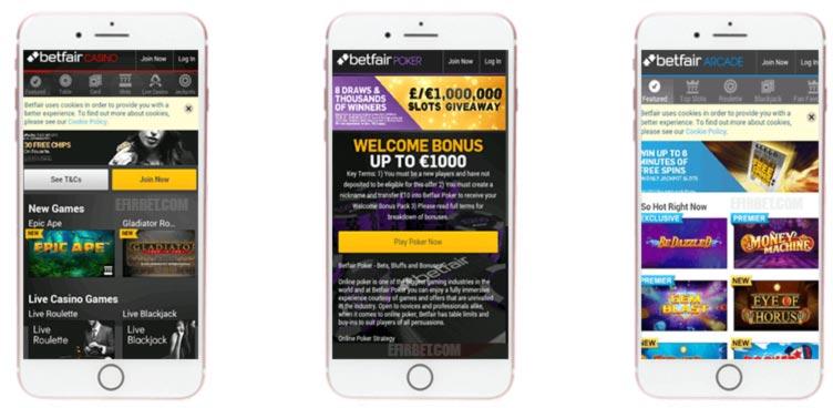 Betfair App ios iphone
