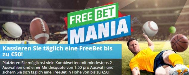 SportingBet Free Bet